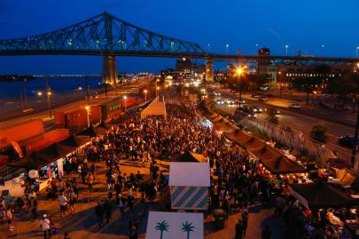 Photo courtesy of Marché de Nuit de Montréal